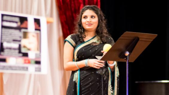 Nidhi in Meena Kumari Event
