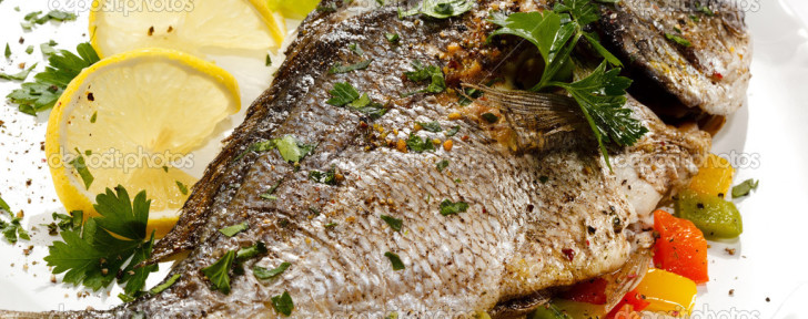 Fish-dish---roasted-fish-and-vegetables