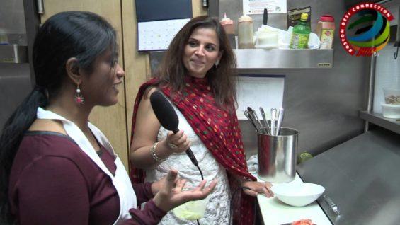 BDC Chef Mamatha Bochala at Raagini Bistro
