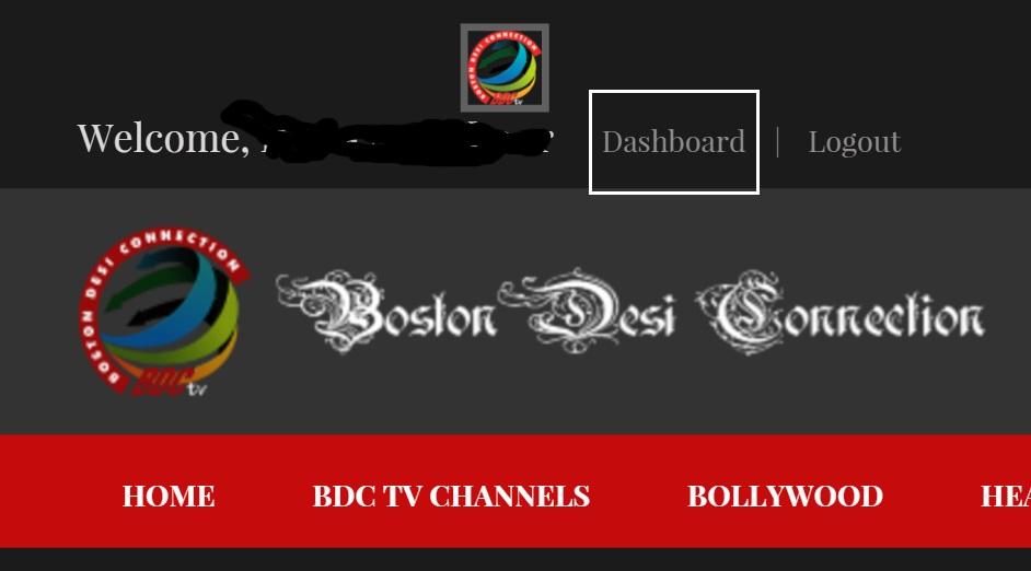 BDCTV dashboard