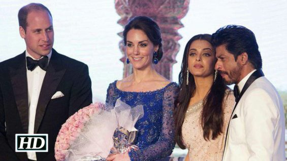 Bollywood Stars Party Hard With British Royal Couple Prince William and Kate Middleton
