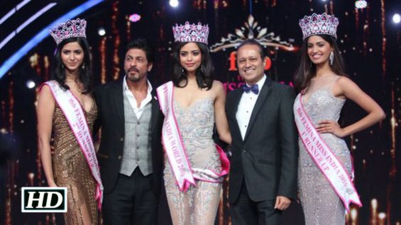 Femina Miss India Grand Finale SRK Announces Priyadarshini Chaterjee The Winner