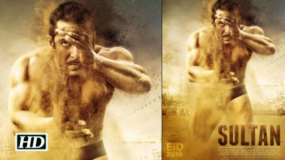 Sultan Official Poster Out Salman Impresses As A Wrestler