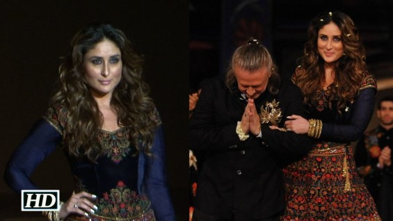 Super Stunning Kareena ROCKS As Showstopper At LFW Grand Finale