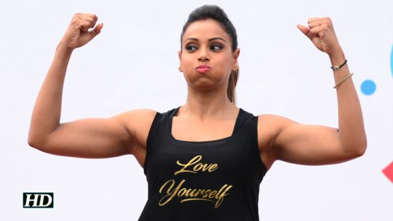 Bipasha's unique yoga style will make you more energetic