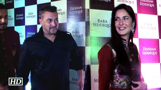 Salman attends Baba Siddique's Iftaar party with Katrina Dont Miss