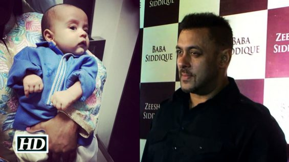 Salman's Nephew Ahil rocks the Iftar party in Manish Malhotra outfit