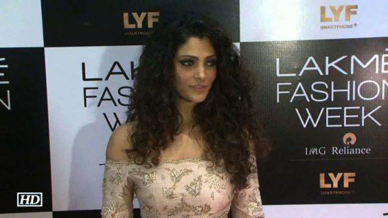 LFW 2016 Mirzya Actress Saiyami Kher Glamorize PAKIZAH